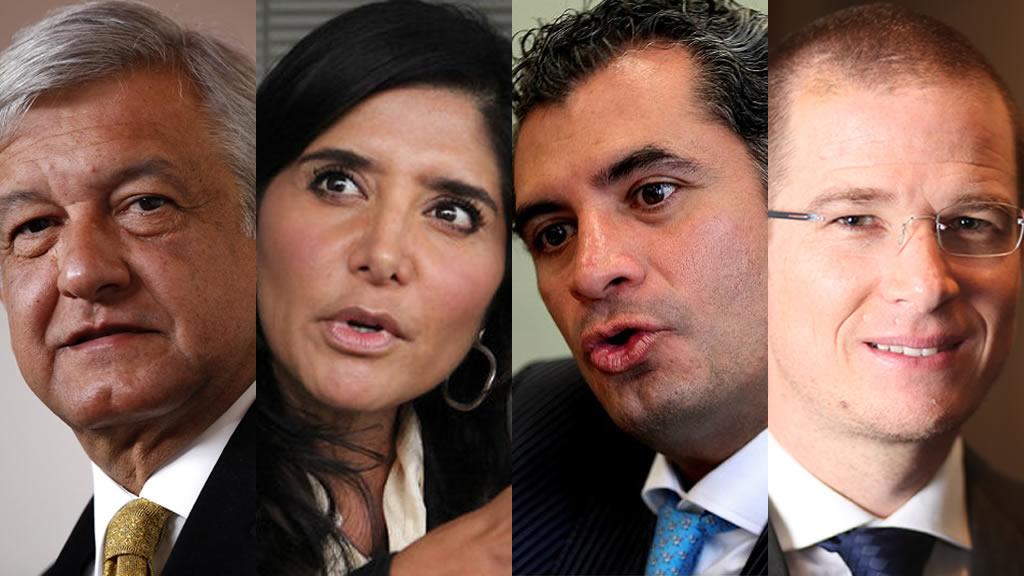 ¿Cuánto ganan los presidentes de los partidos políticos?