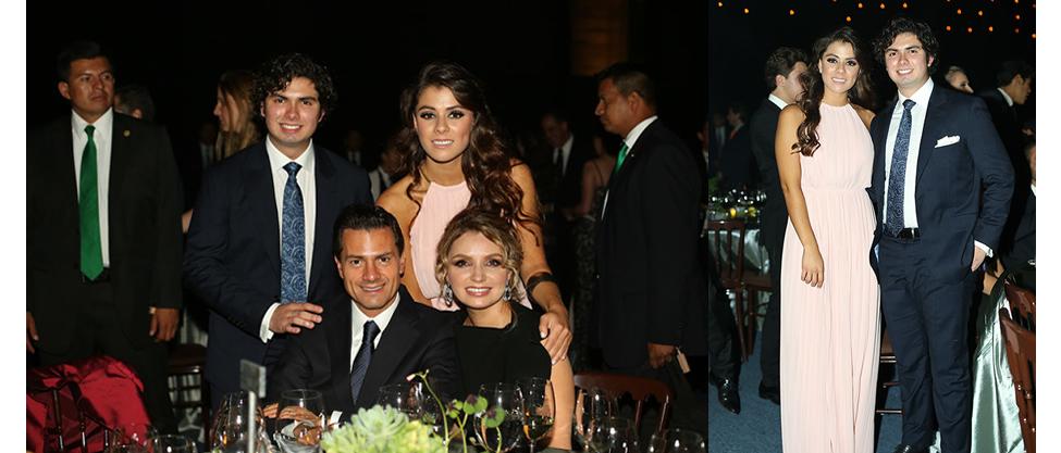 La familia presidencial se va de fiesta