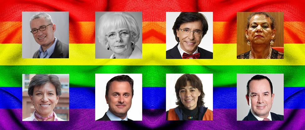 Los políticos que pertenecen a la comunidad LGBTTTI