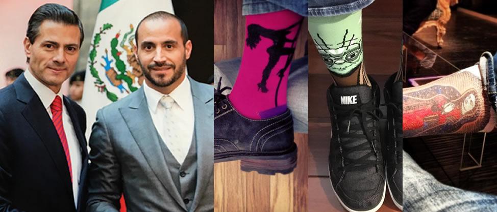 Los calcetines de Víctor Lagunes