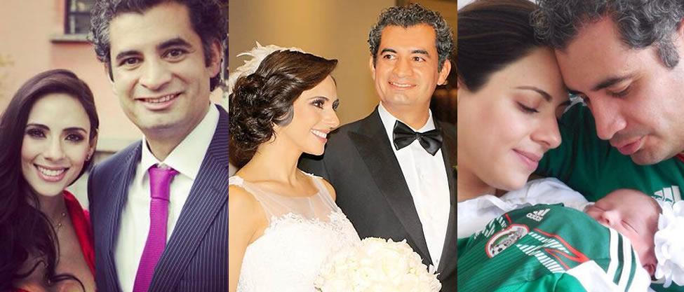 El álbum familiar de Enrique Ochoa Reza y Greta Rojas