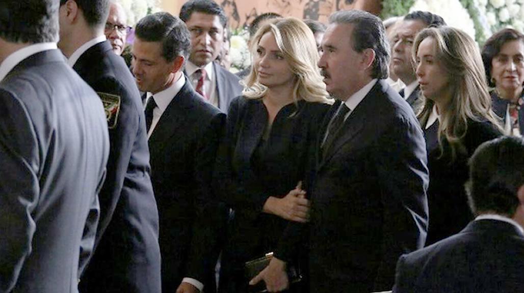 Fotos de los Políticos que despidieron a la esposa de Emilio Gamboa