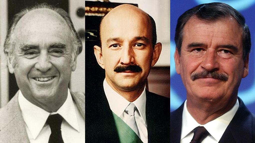 Las tesis de los presidentes de México