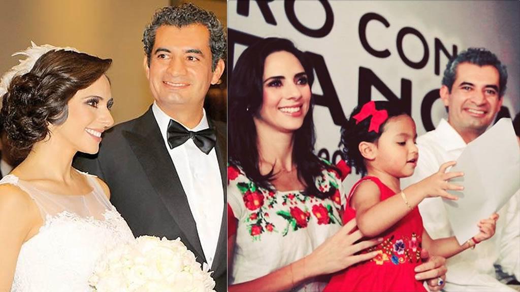 Enrique Ochoa Reza no consultó a su esposa para presidir el PRI