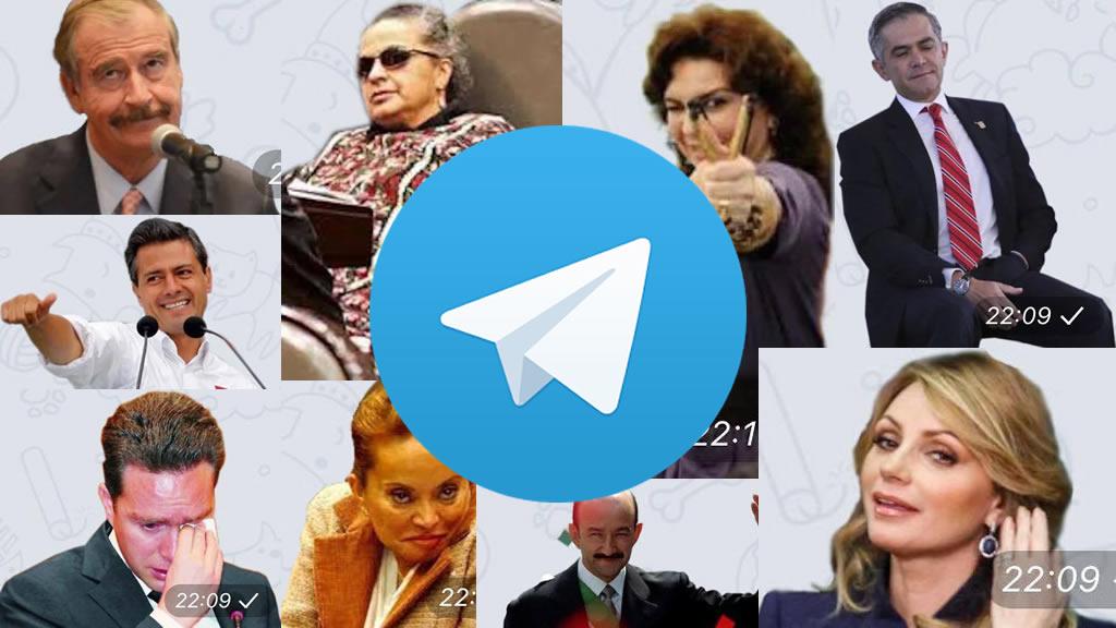 Telegram se burla de los políticos