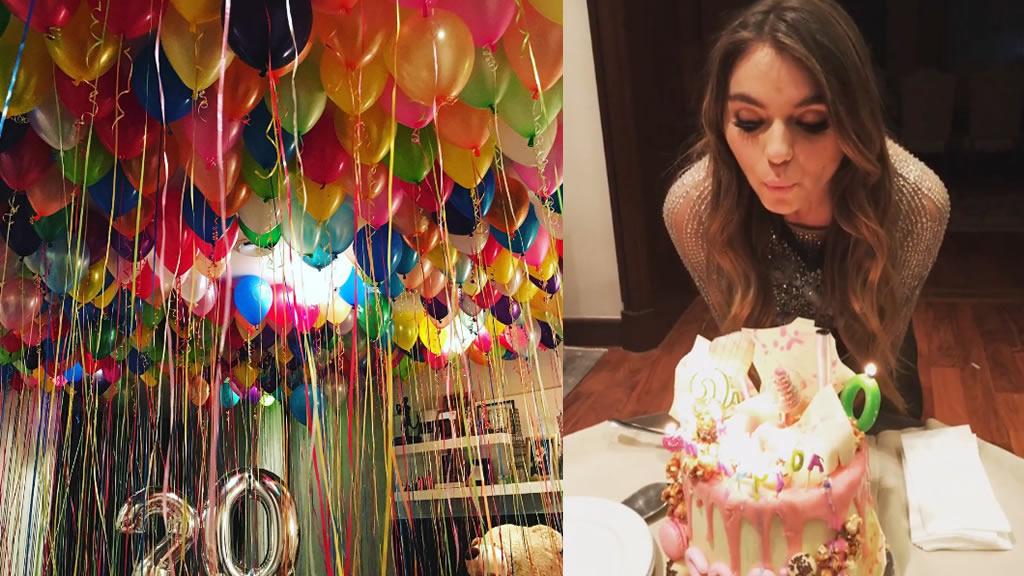 El cumpleaños 20 de Sofía Castro Rivera