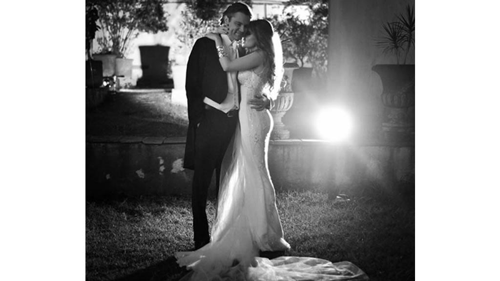 El segundo aniversario de bodas de Aurelio Nuño y María Aliaga