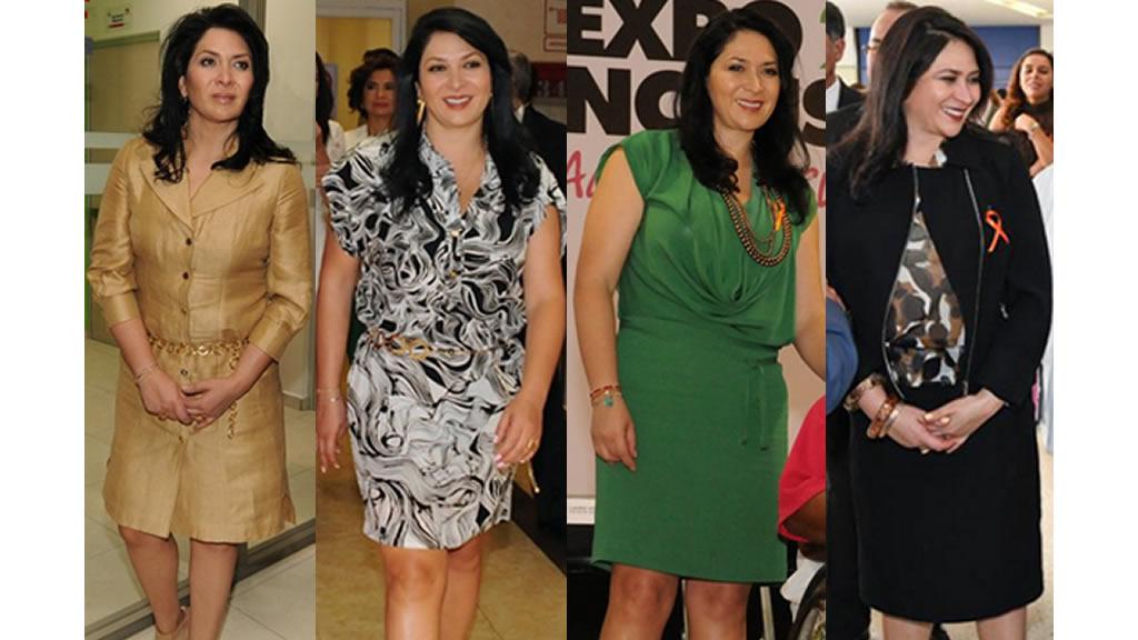 Los outfits de la esposa de Miguel Osorio Chong