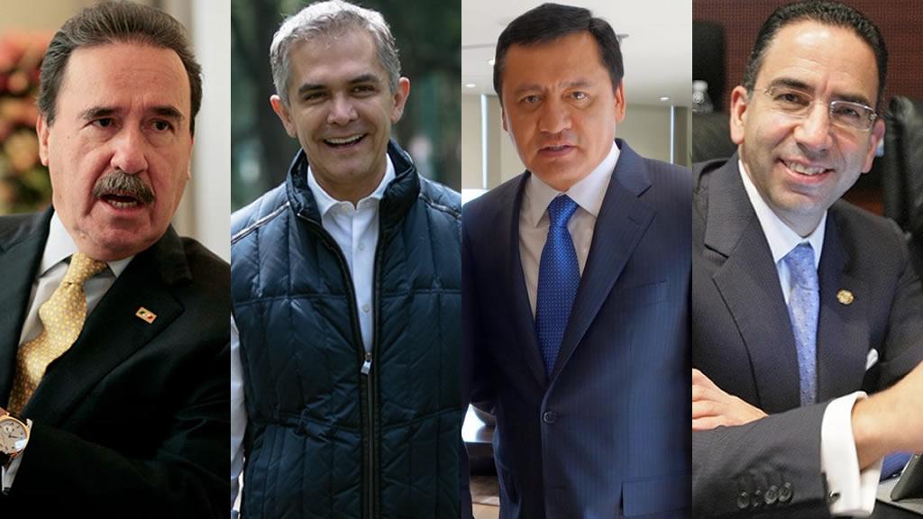Por qué se reúnen en las noches Osorio, Mancera, Lozano y Gamboa