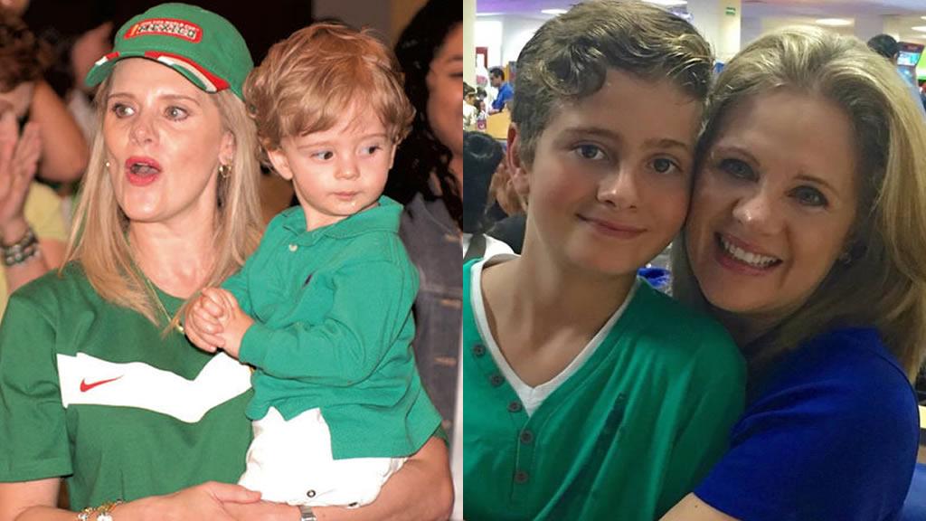 Erika Buenfil presume los 12 años del hijo que tuvo con Ernesto Zedillo