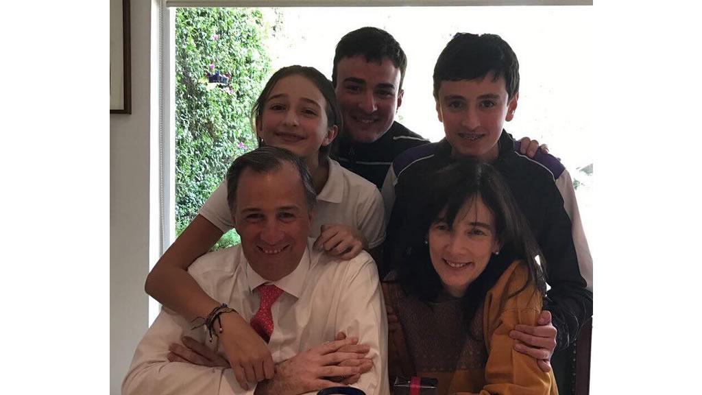 José Antonio Meade festejó su cumpleaños 48