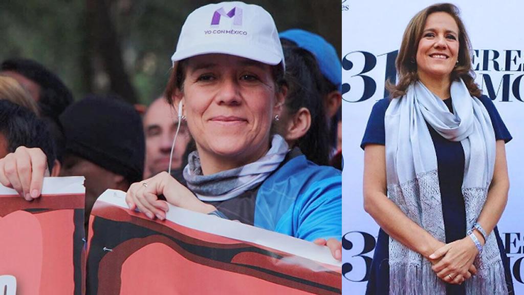 El outfit deportivo de Margarita Zavala