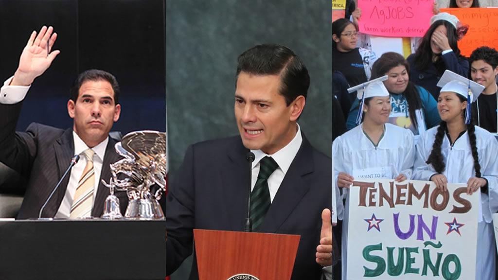 Qué une a Peña Nieto, a los Senadores y a los Dreamers