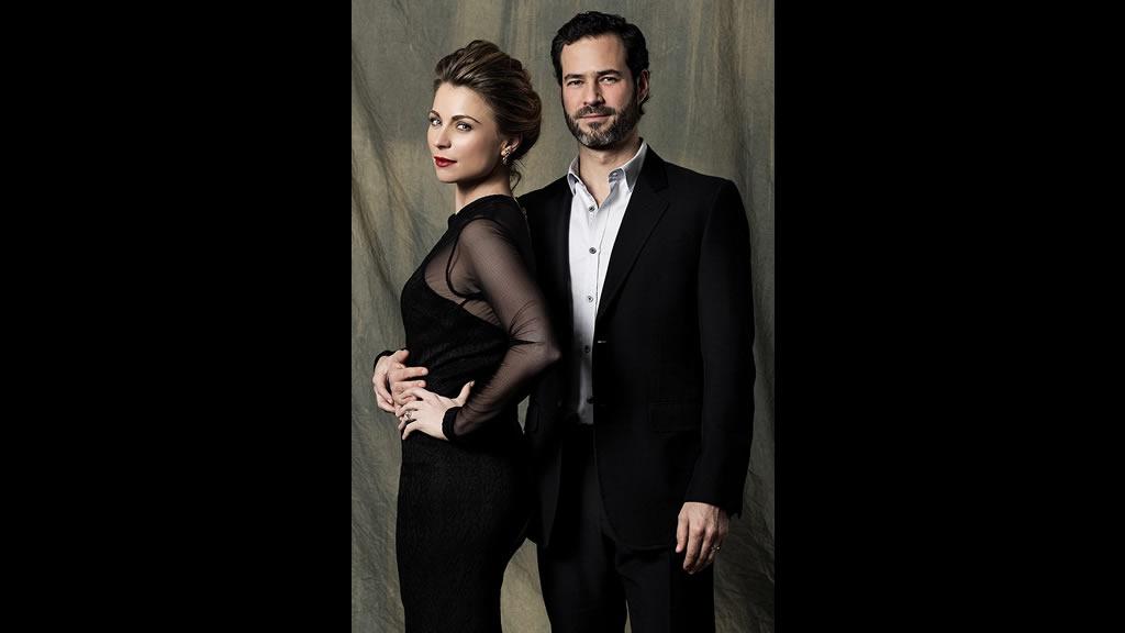 Cómo se llaman los mellizos de Emiliano Salinas y Ludwika Paleta
