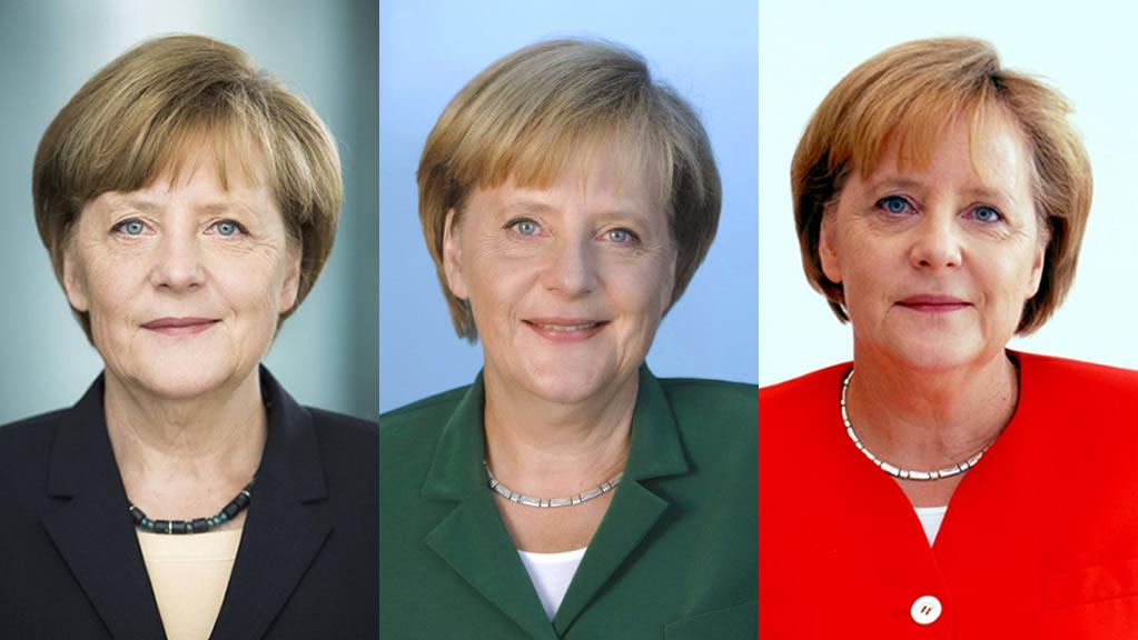Las chaquetas de colores de Angela Merkel [FOTOS]