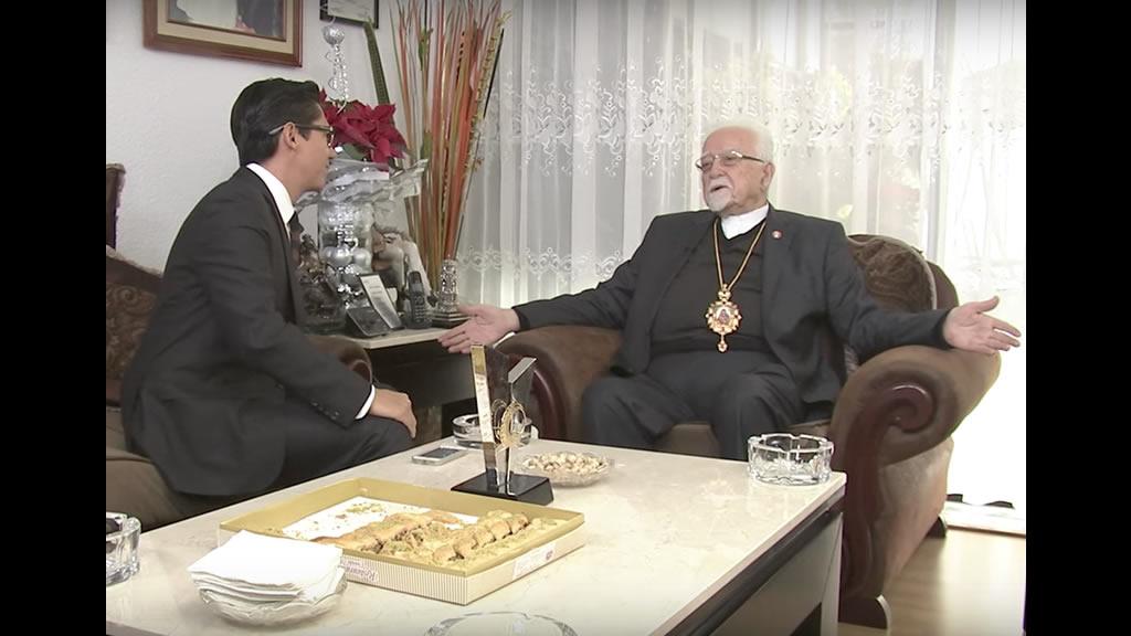 Monseñor Antonio Chedraoui, líder de la iglesia ortodoxa en México