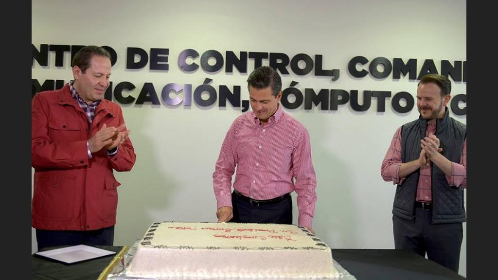 Enrique Peña Nieto celebra 51 años de vida