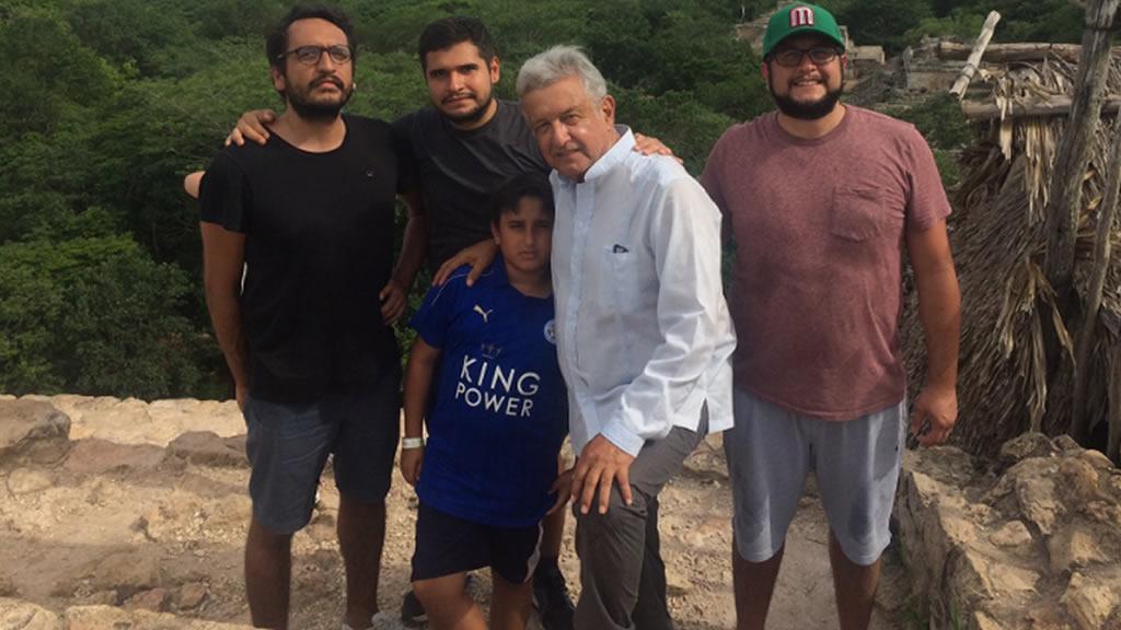 Las vacaciones de Andrés Manuel López Obrador y sus hijos