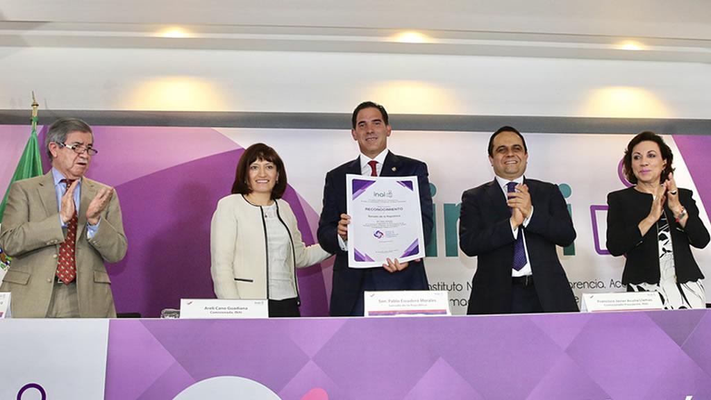 El Senado de la República es de los órganos más transparentes de México