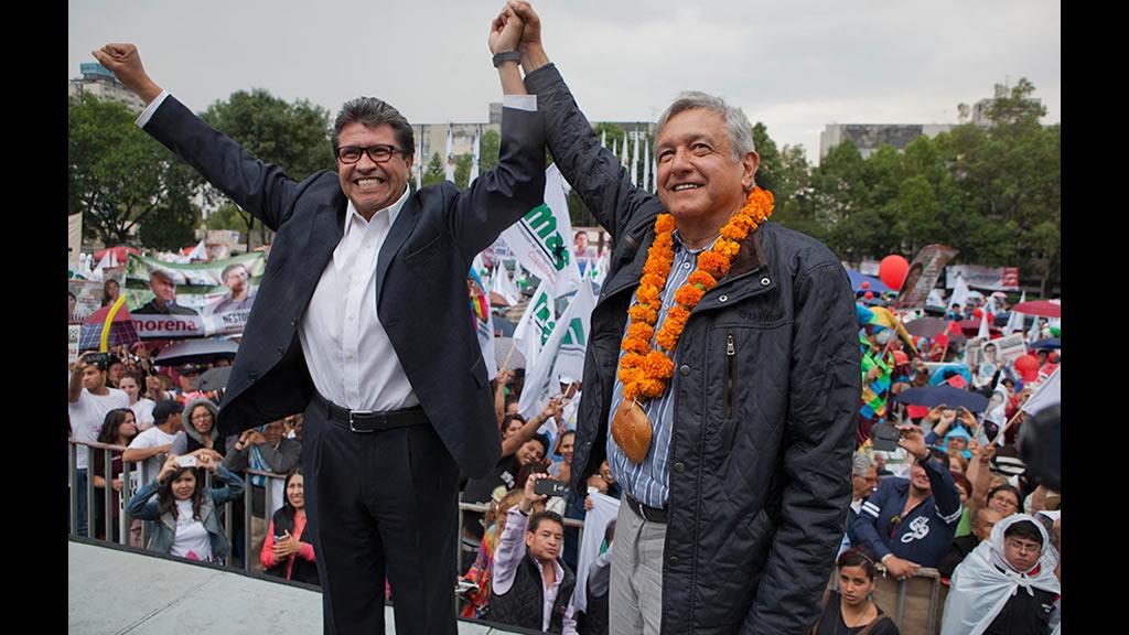 Ricardo Monreal dice que la traición es algo usual en la política