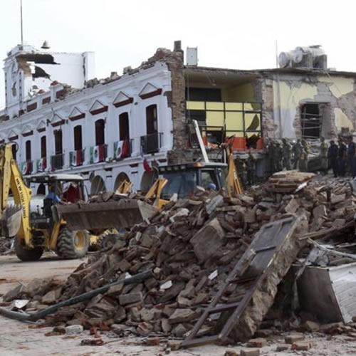 Senado de la República ayuda a los afectados por el terremoto