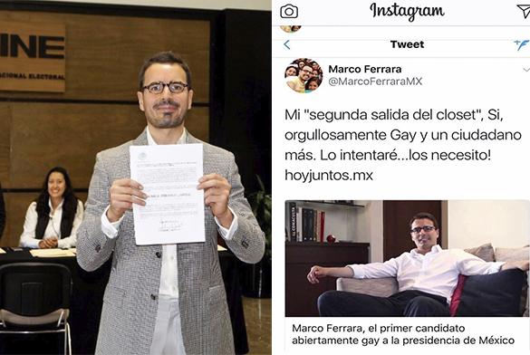 Marco Ferrera gay