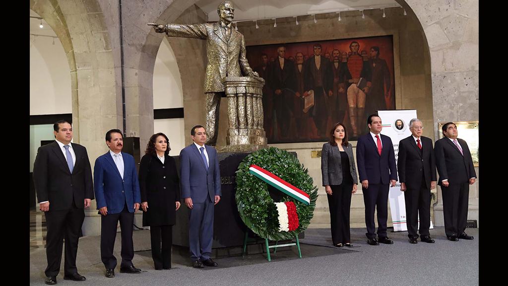 El 104 aniversario luctuoso de Belisario Domínguez