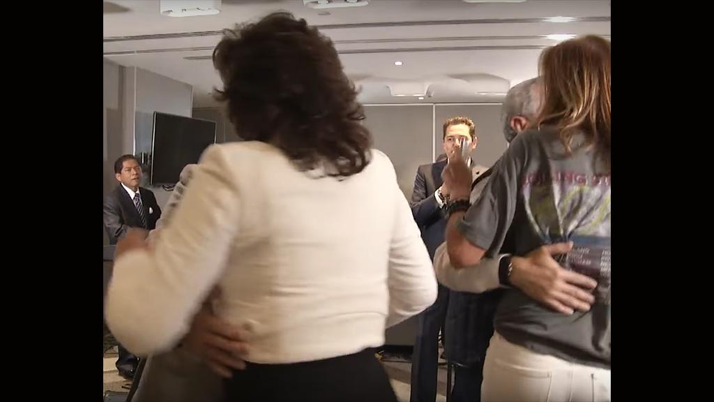 Tres aspirantes a la presidencia de México bailan aaasí