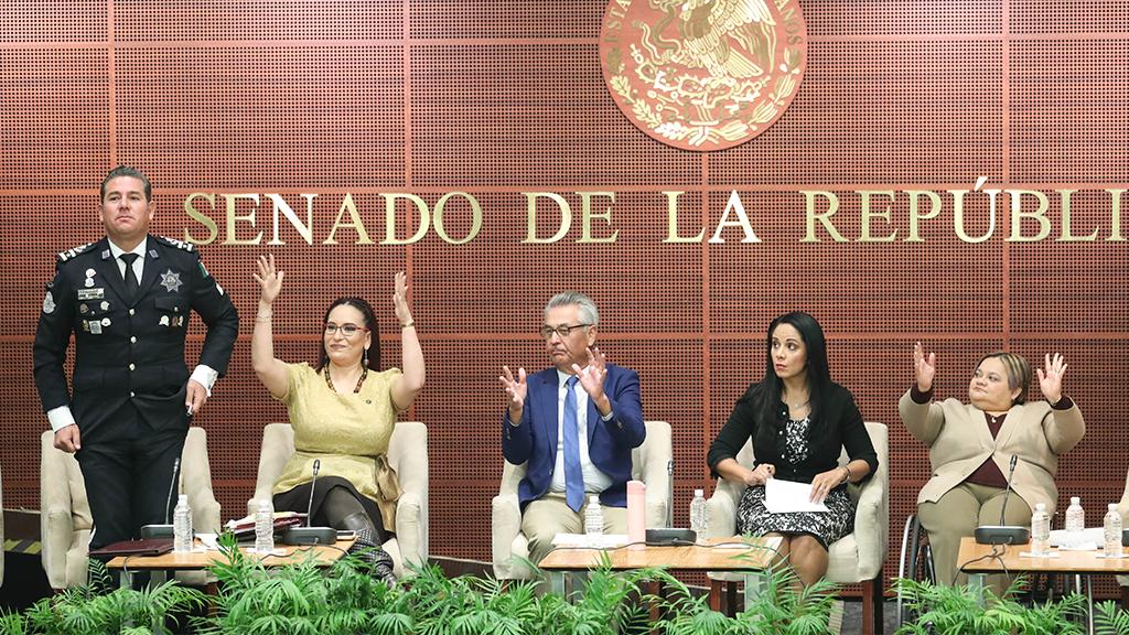 El Senado va por los derechos humanos de la comunidad sorda