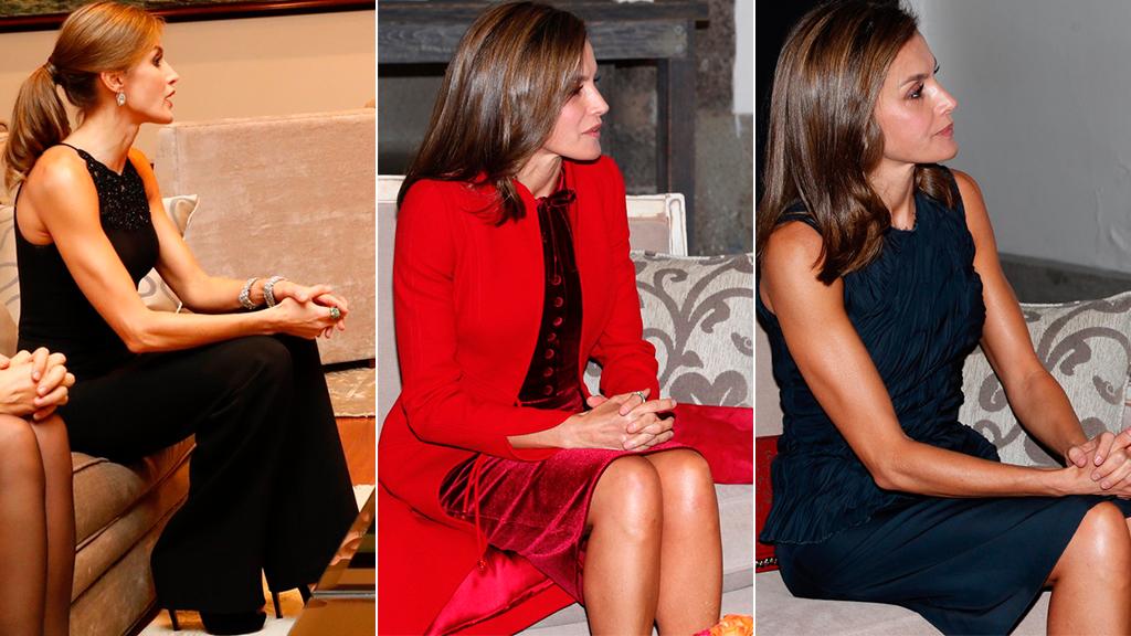 Los outfits de la reina Letizia de España durante su visita a México