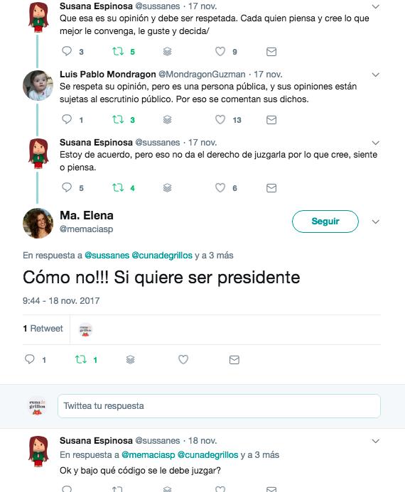 declaraciones de Margarita 10