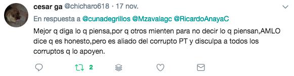 declaraciones de Margarita 21