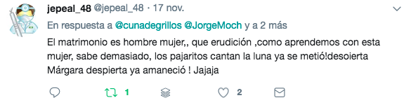 declaraciones de Margarita 22