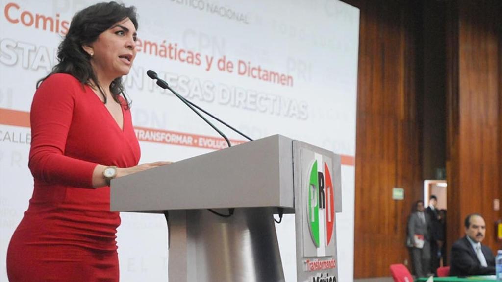 El rojo PRI de Ivonne Ortega