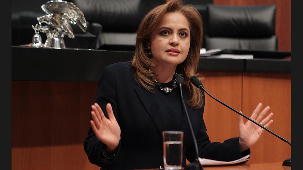 Ana Lilia Herrera respalda la Ley General de Archivos
