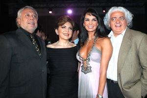 Ortega con los famosos 11