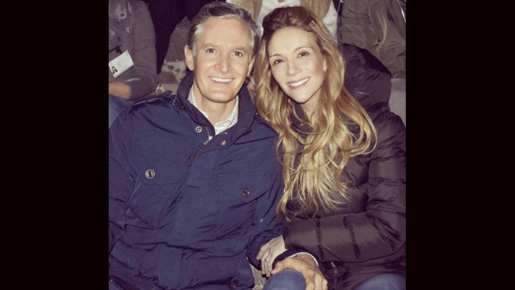 Los 4 años de casados de Alfredo del Mazo y Fernanda Castillo