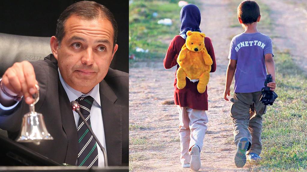 El Senado busca proteger a los niños migrantes