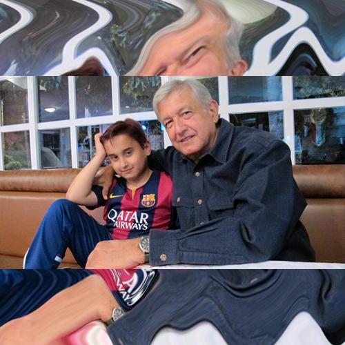 El cambio de look del hijo más pequeño de López Obrador