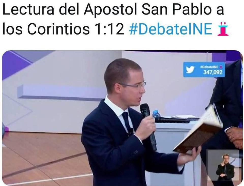 memes del Segundo Debate 11