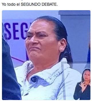 memes del Segundo Debate 18
