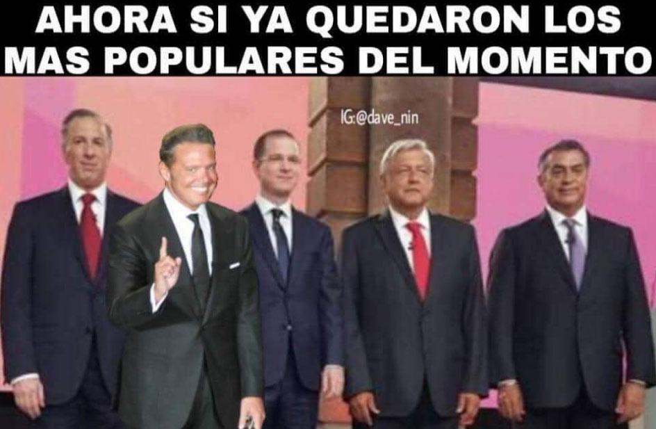 memes del Segundo Debate 19