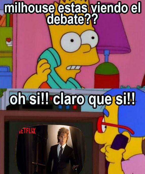 memes del Segundo Debate 20