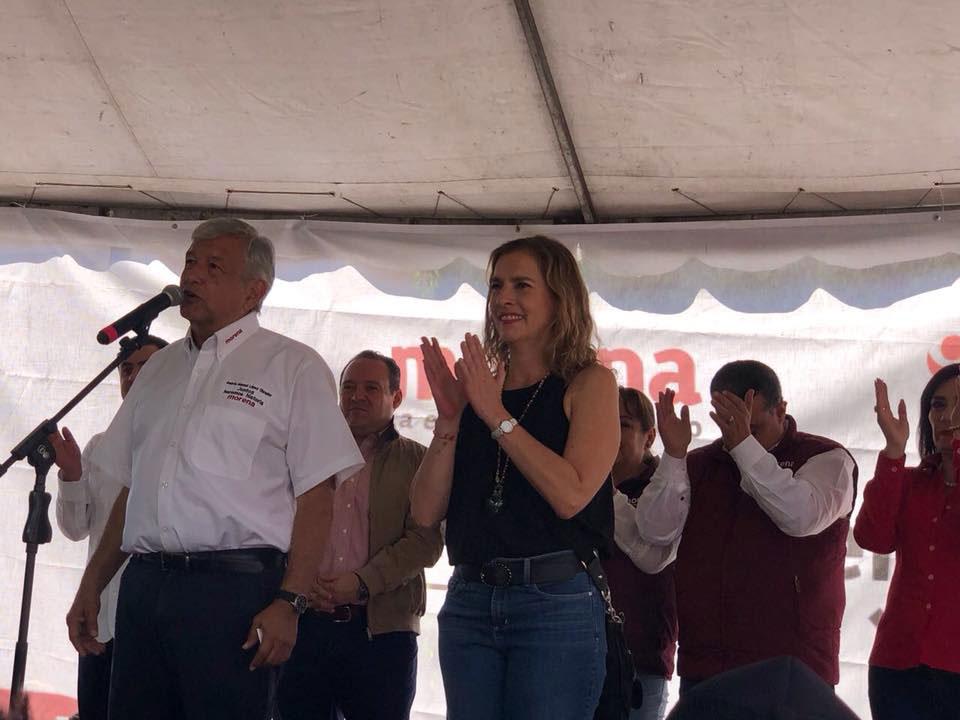 esposa de Lopez Obrador confiesa 4