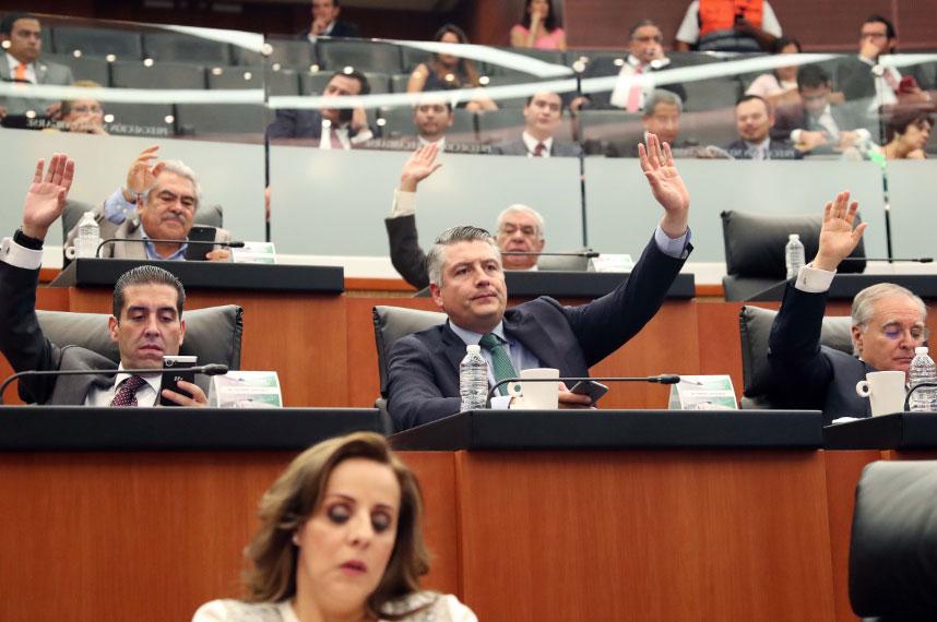 Senado pide difusion al INE  4