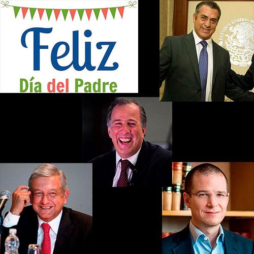 Los papás de los candidatos presidenciales