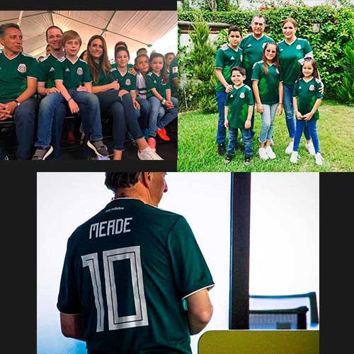 Los políticos que apoyaron a la Selección Mexicana de fútbol