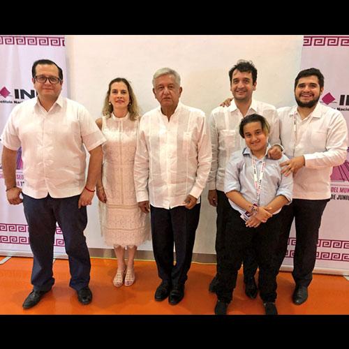 Los hijos de Andrés Manuel López Obrador