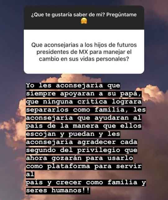 Paulina Pena manda mensaje 4