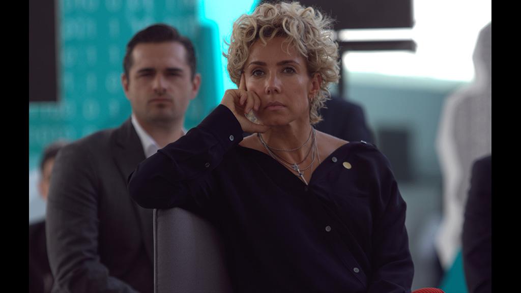 Con este look llegará Alejandra Lagunes al Senado